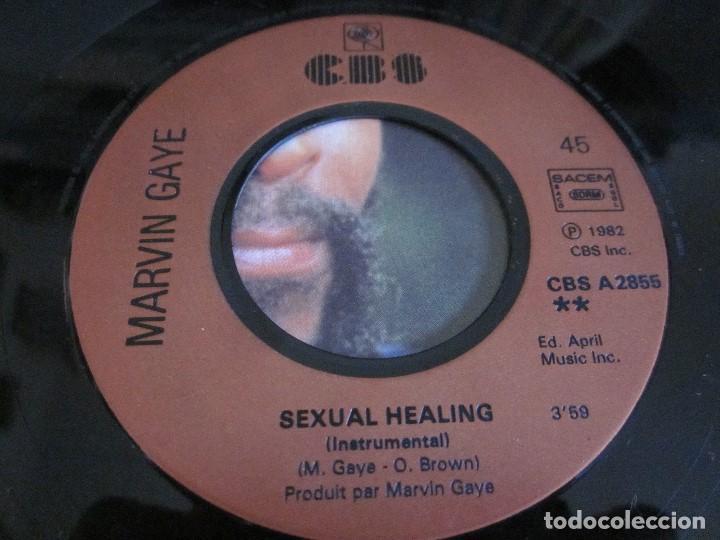 Discos de vinilo: MARVIN GAYE - SEXUAL HEALING - SN - EDICION FRANCESA DEL AÑO 1982. - Foto 4 - 145239366