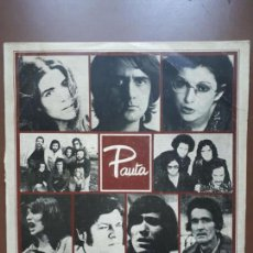 Discos de vinilo: VV.AA. - PAUTA - LP - ARIOLA 1975. Lote 145258342