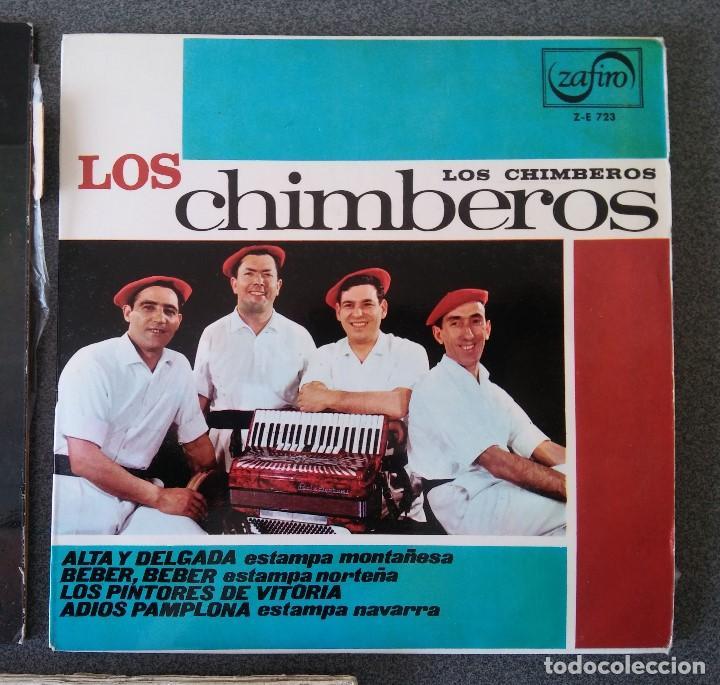 Discos de vinilo: Lote singles Jotas Navarras Música Vasca Raimundo Lanas Pedro Mateo Los Contrapuntos - Foto 3 - 145266950