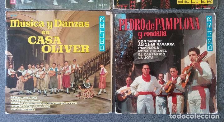Discos de vinilo: Lote singles Jotas Navarras Música Vasca Raimundo Lanas Pedro Mateo Los Contrapuntos - Foto 5 - 145266950