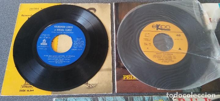 Discos de vinilo: Lote singles Jotas Navarras Música Vasca Raimundo Lanas Pedro Mateo Los Contrapuntos - Foto 6 - 145266950