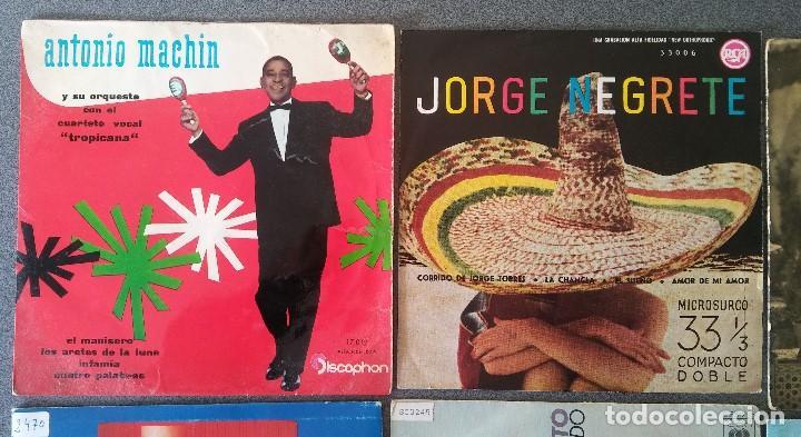 Discos de vinilo: Lote singles Antonio Machin Jorge Negrete Los Van Van Jorge Cafrune y Marito Los 3 Sudamericanos - Foto 2 - 145268166