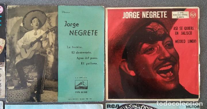 Discos de vinilo: Lote singles Antonio Machin Jorge Negrete Los Van Van Jorge Cafrune y Marito Los 3 Sudamericanos - Foto 3 - 145268166