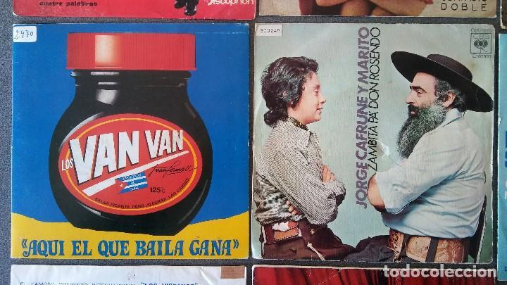 Discos de vinilo: Lote singles Antonio Machin Jorge Negrete Los Van Van Jorge Cafrune y Marito Los 3 Sudamericanos - Foto 4 - 145268166