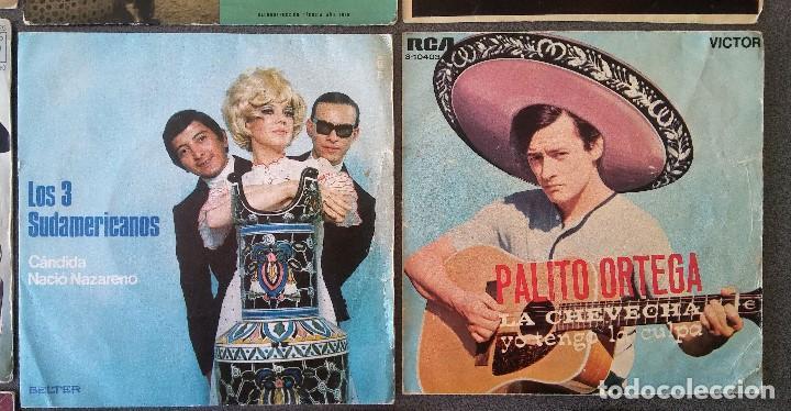 Discos de vinilo: Lote singles Antonio Machin Jorge Negrete Los Van Van Jorge Cafrune y Marito Los 3 Sudamericanos - Foto 5 - 145268166