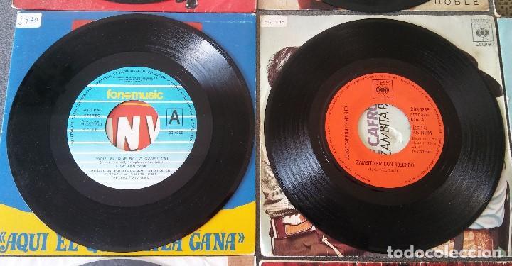 Discos de vinilo: Lote singles Antonio Machin Jorge Negrete Los Van Van Jorge Cafrune y Marito Los 3 Sudamericanos - Foto 10 - 145268166