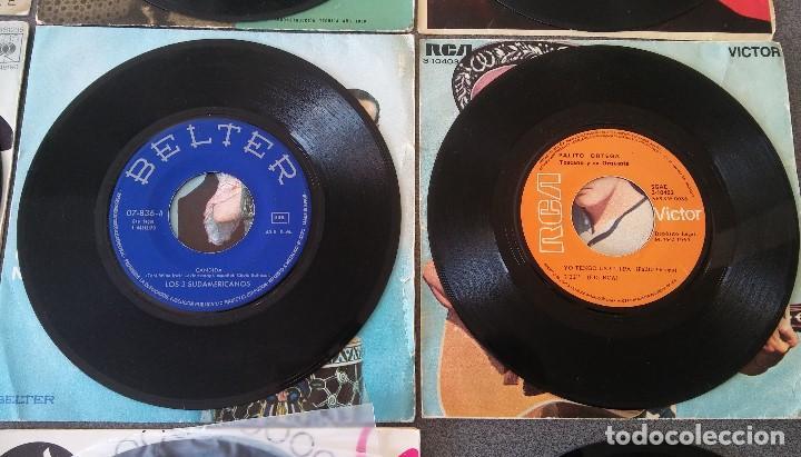 Discos de vinilo: Lote singles Antonio Machin Jorge Negrete Los Van Van Jorge Cafrune y Marito Los 3 Sudamericanos - Foto 11 - 145268166