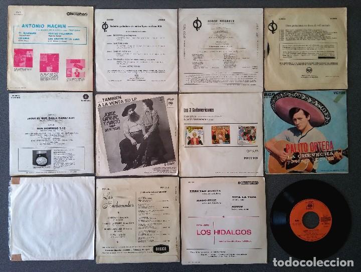 Discos de vinilo: Lote singles Antonio Machin Jorge Negrete Los Van Van Jorge Cafrune y Marito Los 3 Sudamericanos - Foto 14 - 145268166