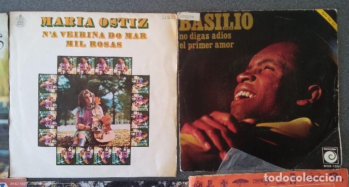 Discos de vinilo: Lote singles cantautores Victor Manuel Jairo Mochi Willy Sommers Maria Ostiz Tommy Lara June - Foto 4 - 145268898