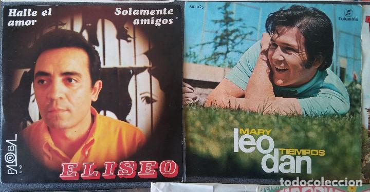 Discos de vinilo: Lote singles cantautores Victor Manuel Jairo Mochi Willy Sommers Maria Ostiz Tommy Lara June - Foto 5 - 145268898
