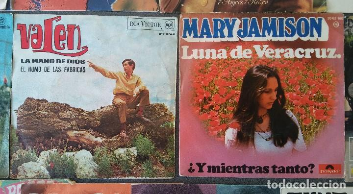 Discos de vinilo: Lote singles cantautores Victor Manuel Jairo Mochi Willy Sommers Maria Ostiz Tommy Lara June - Foto 6 - 145268898