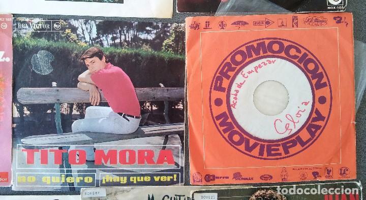 Discos de vinilo: Lote singles cantautores Victor Manuel Jairo Mochi Willy Sommers Maria Ostiz Tommy Lara June - Foto 7 - 145268898