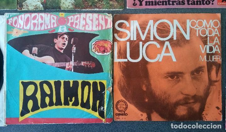 Discos de vinilo: Lote singles cantautores Victor Manuel Jairo Mochi Willy Sommers Maria Ostiz Tommy Lara June - Foto 9 - 145268898