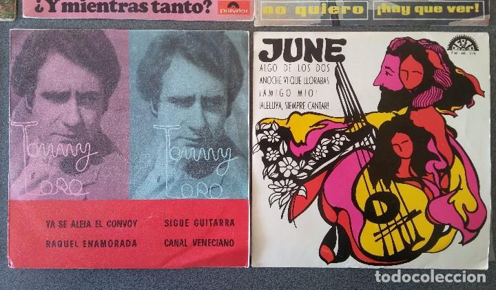 Discos de vinilo: Lote singles cantautores Victor Manuel Jairo Mochi Willy Sommers Maria Ostiz Tommy Lara June - Foto 10 - 145268898
