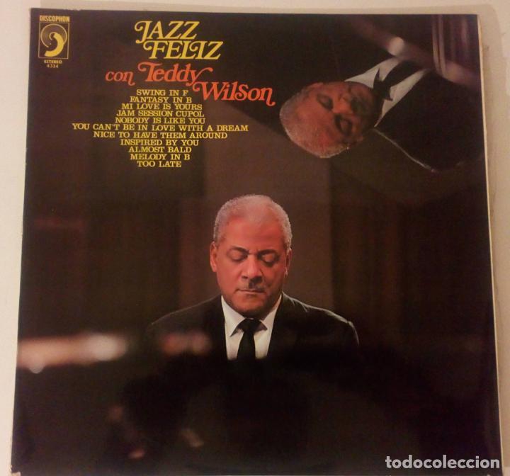 TEDDY WILSON & THE OVE LIND SWING GROUP - JAZZ FELIZ (Música - Discos - LP Vinilo - Jazz, Jazz-Rock, Blues y R&B)