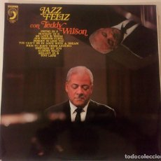 Discos de vinilo: TEDDY WILSON & THE OVE LIND SWING GROUP - JAZZ FELIZ. Lote 145269146