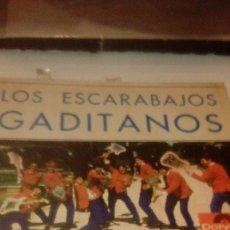 Discos de vinilo: BAL-7 DISCO CHICO 7 PULGADAS SOLO CARATULA SIN DISCO LOS ESCARABAJOS GADITANOS . Lote 145270298