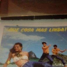 Discos de vinilo: BAL-7 DISCO CHICO 7 PULGADAS SOLO CARATULA SIN DISCO QUE COSA MAS LINDA JAYME MARQUES . Lote 145270882
