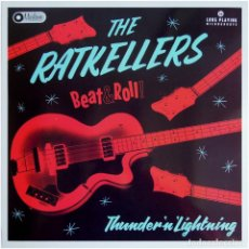 Discos de vinilo: THE RATKELLERS – THUNDER'N'LIGHTNING - LP SPAIN 2018 - MARLOWE RECORDS MR012LP - MINT. Lote 145271082