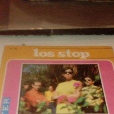 Discos de vinilo: BAL-7 DISCO CHICO 7 PULGADAS SOLO CARATULA SIN DISCO LOS STOP TRES COSAS . Lote 145271218