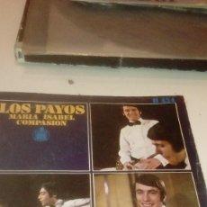 Discos de vinilo: BAL-7 DISCO CHICO 7 PULGADAS SOLO CARATULA SIN DISCO LOS PAYOS MARIA ISABEL COMPASION . Lote 145271438