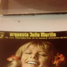 Discos de vinilo: BAL-7 DISCO CHICO 7 PULGADAS SOLO CARATULA SIN DISCO JULIO MURILLO DE 7 A 9. Lote 145272238