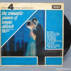 Discos de vinilo: RONNIE ALDRICH. THE ROMANTIC PIANOS OF RONNIE ALDRICH. Lote 145277630