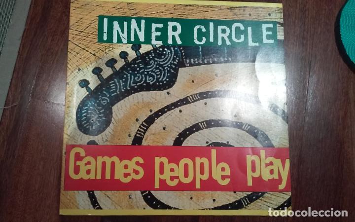 INNER CIRCLE-GAMES PEOPLE PLAY.MAXI (Música - Discos de Vinilo - Maxi Singles - Reggae - Ska)
