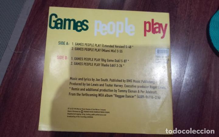 Discos de vinilo: Inner circle-games people play.maxi - Foto 2 - 145295598