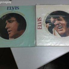Discos de vinilo: ELVIS - A LEGENDARY PERFORMER VOLUMEN I Y II . USA. Lote 145295090