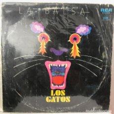Discos de vinilo: LOS GATOS/ LA BALSA ARGENTINA 1975 BUEN ESTADO SIN SALTOS. Lote 145316718