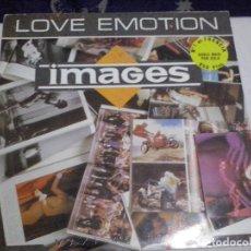 Discos de vinil: MUSICA DOBLE MAXI SINGLE: LOVE EMOTION - IMAGES. ED ESPAÑOLA 1.987 (ABLN). Lote 145320962