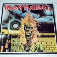 Discos de vinilo: LP IRON MAIDEN - IRON MAIDEN. Lote 145325630