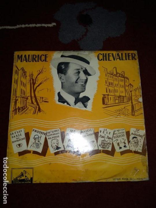 MAURICE CHEVALIER (Música - Discos - LP Vinilo - Canción Francesa e Italiana)