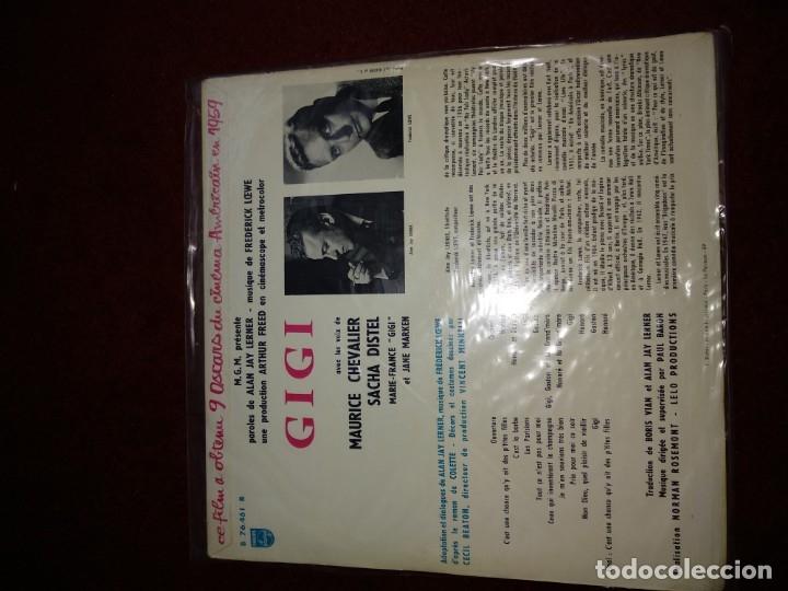 Discos de vinilo: Gigi Maurice Chevalier - Foto 2 - 145336518