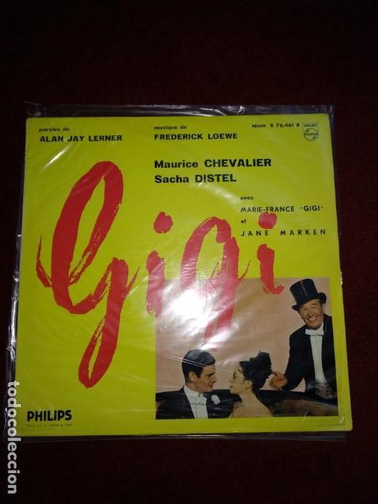 GIGI MAURICE CHEVALIER (Música - Discos - LP Vinilo - Bandas Sonoras y Música de Actores )