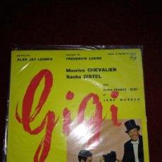 Discos de vinilo: GIGI MAURICE CHEVALIER. Lote 145336518