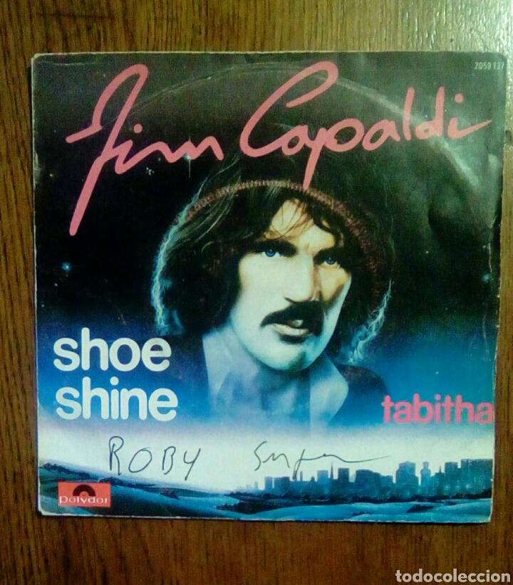 JIM CAPALDI - SHOE SHINE / TABITHA, POLYDOR, 1979. FRANCE. (Música - Discos - Singles Vinilo - Funk, Soul y Black Music)