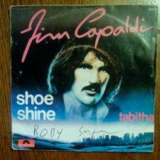 Discos de vinilo: JIM CAPALDI - SHOE SHINE / TABITHA, POLYDOR, 1979. FRANCE.. Lote 145350176