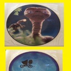 Discos de vinilo: E.T. / THE EXTRA TERRESTRIAL 1982 !! JOHN WILLIAMS !! COLLECTOR LIMT EDIT. PICTURE DISC !!! EXC !!!!. Lote 125339958