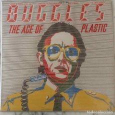Discos de vinilo: BUGGLES. THE AGE OF PLASTIC.LP ESPAÑA CON FUNDA ORIGINAL PLASTICO + FUNDA INTERIOR CON LETRAS. Lote 145352458