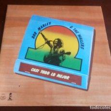 Discos de vinilo: BOB MARLEY & THE WAILERS - CASI TODO LO MEJOR - LP - 1978 - MBE. Lote 145367734