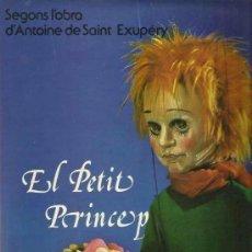 Discos de vinilo: EL PETIT PRINCEP (BODABADOC & ANTOINE DE SAINT- EXUPERY) LP PARDAL SPAIN 1977. Lote 145374182