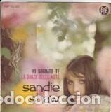SANDIE SHAW LA DANZA DELLE NOTE /HO SOGNATO TE (Música - Discos de Vinilo - Maxi Singles - Festival de Eurovisión)