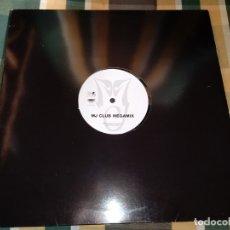 Discos de vinilo: MICHAEL JACKSON MJ CLUB MEGAMIX MAXI SINGLE VINILO PROMOCIONAL CONTIENE 1 MEGAMIX. Lote 145389801