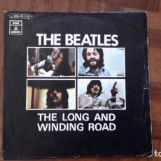 Discos de vinilo: BEATLES - THE LONG AND WINDING ROAD. Lote 145394342