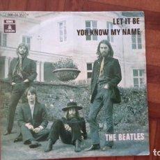 Discos de vinilo: BEATLES - LET IT BE. Lote 145394670