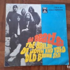Discos de vinilo: BEATLES - THE BALLAD OF JOHN AND YOKO. Lote 145395038