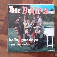 Discos de vinilo: BEATLES - HELLO, GOODBYE. Lote 145395490