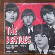 Discos de vinilo: BEATLES - PENNY LANE. Lote 145395830